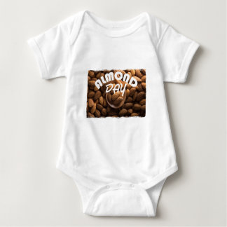 16th February - Almond Day - Appreciation Day Baby Bodysuit