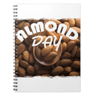 16th February - Almond Day - Appreciation Day Notebooks