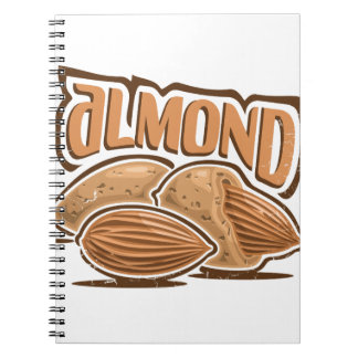 16th February - Almond Day - Appreciation Day Spiral Notebook