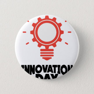 16th February - Innovation Day - Appreciation Day 6 Cm Round Badge