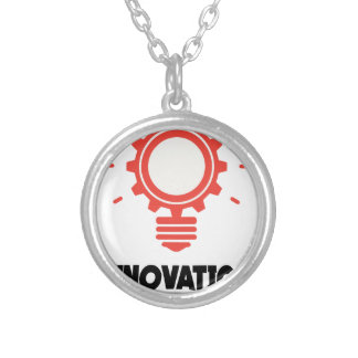 16th February - Innovation Day - Appreciation Day Silver Plated Necklace