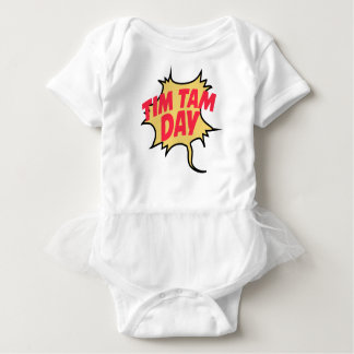 16th February - Tim Tam Day - Appreciation Day Baby Bodysuit