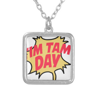 16th February - Tim Tam Day - Appreciation Day Silver Plated Necklace