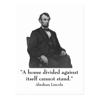 16th President Abraham Lincoln Postcard