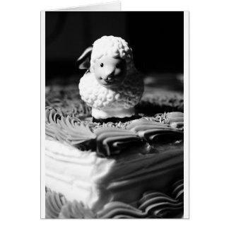 16th Sheep Birthday Card