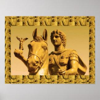 """16x12"""" Alexander Great, Alexandria Egypt, Vintage Print"""