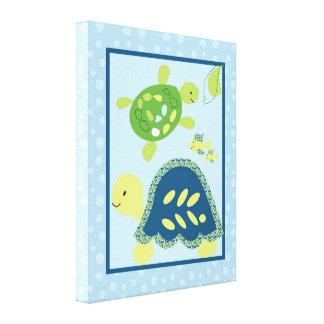 16x20 Canvas Art Nursery Print Turtle Reef Ocean Gallery Wrapped Canvas