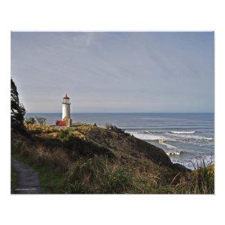 16X20 North Head Lighthouse Art Photo