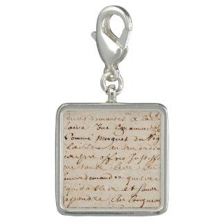 1700s Vintage French Script Grunge Parchment Paper