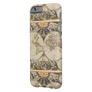 1702 A new map of the world Barely There iPhone 6 Case