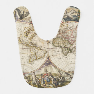 1702 A new map of the world Bib