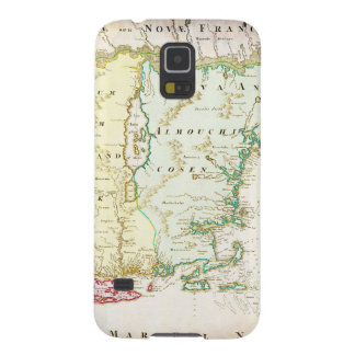 1716 Homann Map of New England Nova Anglia Geo Galaxy S5 Cover