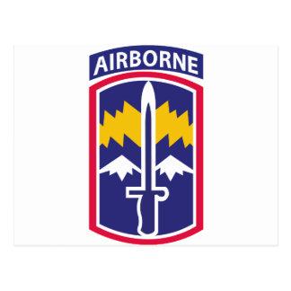 171st Infantry Brigade - Airborne Postcard