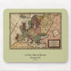 1721 Map of Europe Mouse Pad