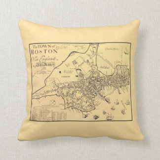 1722 Boston - Throw Pillow