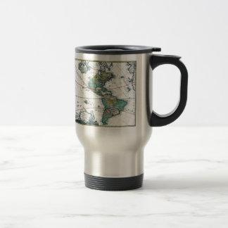 1725 South and North America Map Mugs