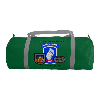 173D SPECIAL TROOPS BN 173D AIRBORNE GYM BAG GYM DUFFEL BAG