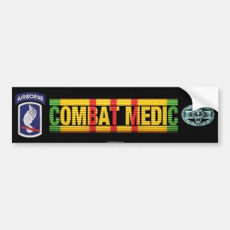 173rd Airborne Bde. Vietnam COMBAT MEDIC Sticker Bumper Sticker