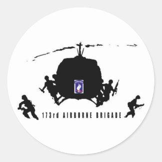 173rd AIRBORNE BRIGADE Classic Round Sticker