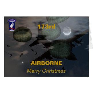 173rd airborne brigade iraq vets veterans Card