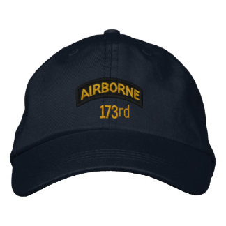 173rd Airborne Embroidered Hat
