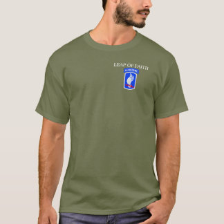 173RD AIRBORNE LEAP OF FAITH T-SHIRT