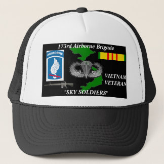 173rd AireBorne Brigade Vietnam Veteran Ball Caps