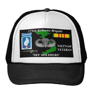 173rd AireBorne Brigade Vietnam Veteran Ball Caps Cap