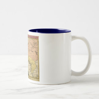 1743 West Africa Map Coffee Mugs