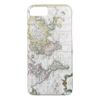1748 World Map iPhone 8/7 Case