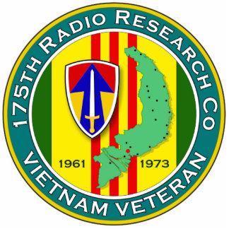 175th RRC - ASA Vietnam Standing Photo Sculpture