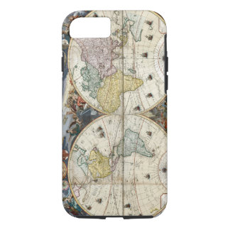 1766 World Map iPhone 8/7 Case