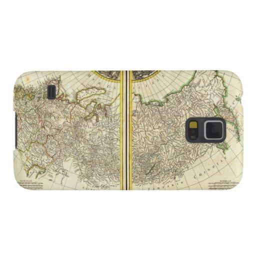 1771 Rigobert Bonne Map of Russia Samsung Galaxy Nexus Cases