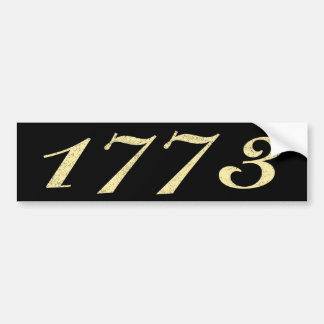 1773 BUMPER STICKER