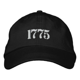 1775 Hat Embroidered Cap