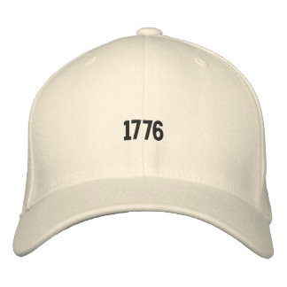 1776 American Revolution Embroidered Hat