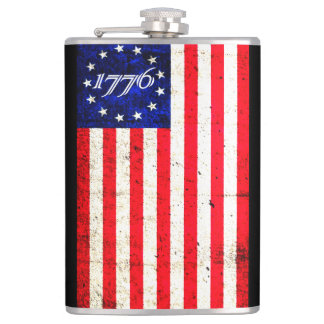 1776 Drink of Freedom Hip Flask
