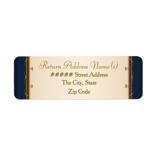 1776 Wedding Collection (Return Address) Return Address Label
