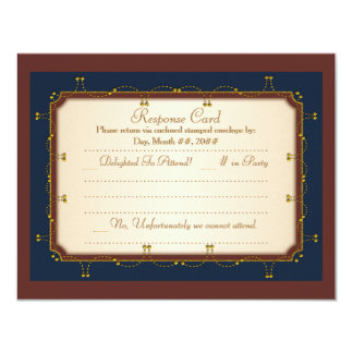 1776 Wedding Collection (RSVP) Personalized Invites