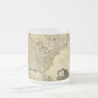 1784 Map of the United States of America by Faden Mug
