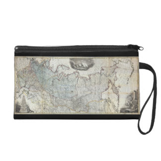 1787 Wall Map of the Russian Empire Wristlet