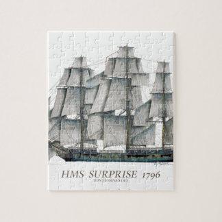 1796 HMS Surprise art Jigsaw Puzzle