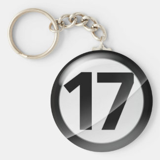 17 black Key Chain