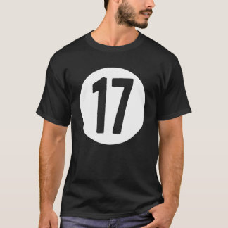 17 in a Circle T-shirt