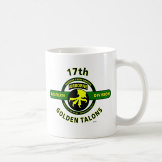 """17TH AIRBORNE DIVISION """"THUNDER FROM HEAVEN"""" COFFEE MUG"""