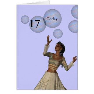 17th Birthday Card