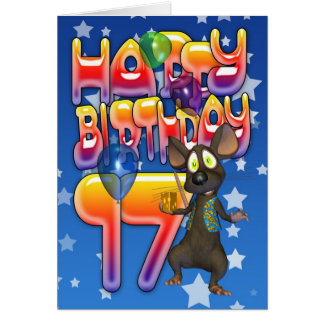 17th Birthday Card, Happy Birthday Card