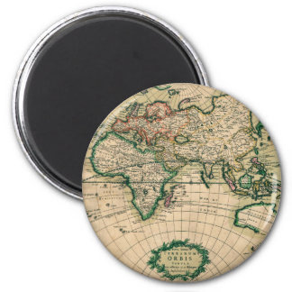 17th Century European Map Magnet