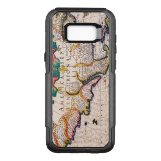 17th Century Map of North America OtterBox Commuter Samsung Galaxy S8+ Case