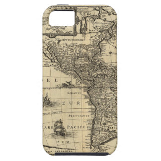 17th-century map of the Americas iPhone 5/5S Covers